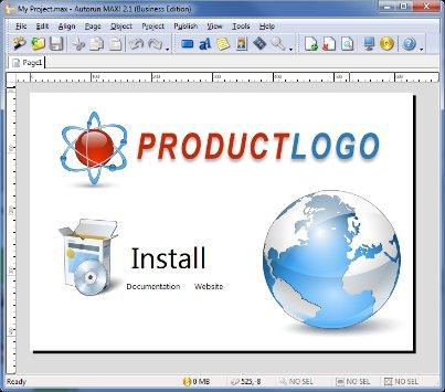 برنامج عمل الاوتورن للسيدي و USB