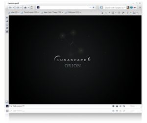 متصفح Lunascape