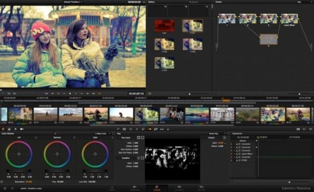 تحميل برنامج تعديل الفيديو مجانا ، تنزيل برامج تعديل الفيديو ، DaVinciResolve لتعديل الفيديوهات