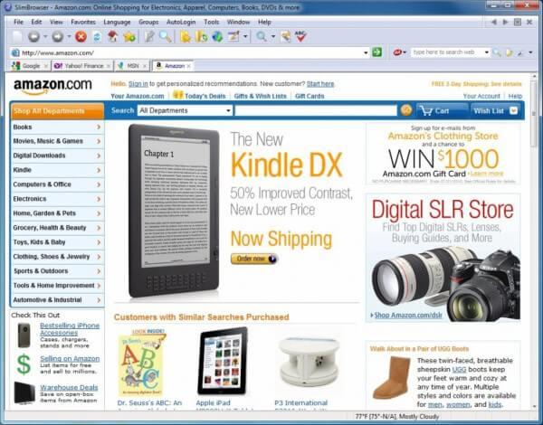 تحميل اسرع متصفح للكمبيوتر اخر اصدار ، تنزيل slim browser