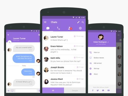 تحميل فايبر للاندرويد 2017 ، برنامج Viber مجانا ، تنزيل فايبر لهواتف الاندرويد