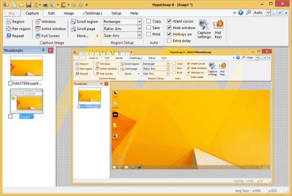 برنامج تصوير الشاشة ، تحميل برنامج تصوير شاشة الكمبيوتر ، تنزيل برنامج هيبر سناب