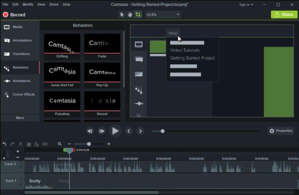 برنامج تحرير الفيديو ، تصوير الفديو ، افضل برنامج تعديل الفيديو
