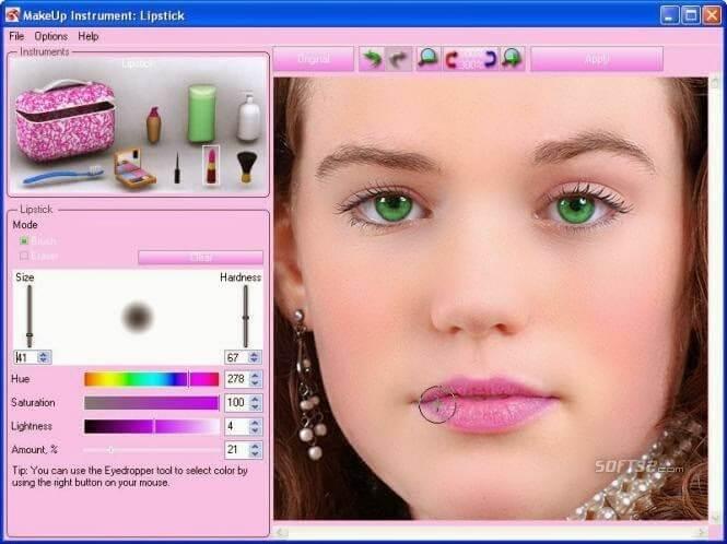 برنامج عمل ماكياج بالصور ، تحميل تطبيق عمل ماكياج للصور ، تعديل الصور