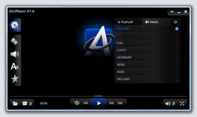 برنامج تشغيل الفيديو ، تشغيل الصوتيات allplayer اخر اصدار مجانا