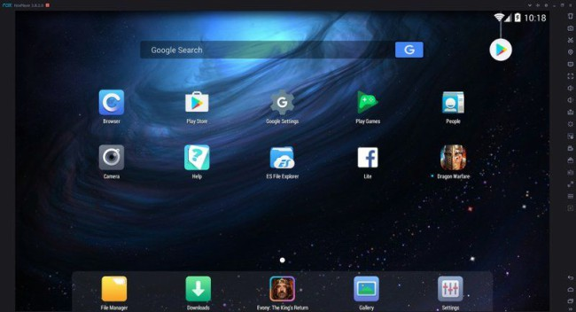 برنامج تشغيل تطبيقات الاندرويد مجانا على الكمبيوتر