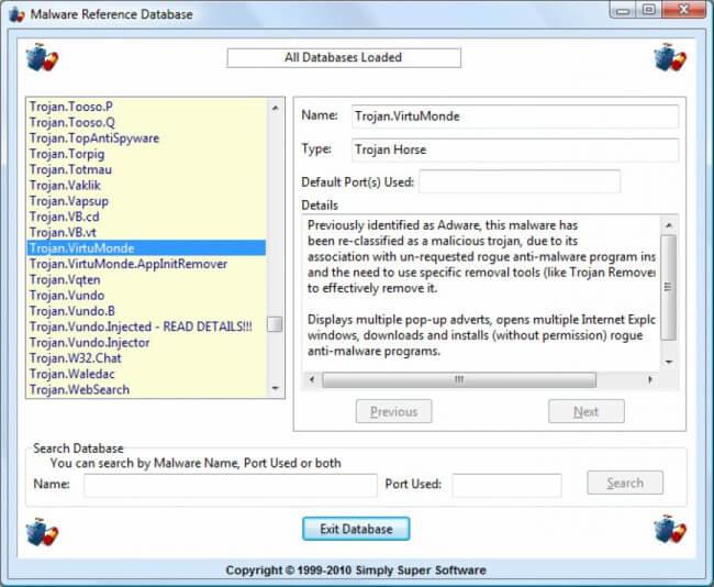 تحميل برنامج حذف التروجان للكمبيوتر ، تنزيل برنامج تروجان ريموفر