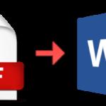 تحميل برنامج تحويل PDF الى Word ، افضل برنامج تحويل المستندات