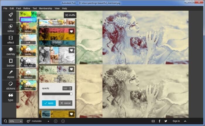 تحميل بكسلر للكمبيوتر ، تنزيل برنامج تعديل الصور ، اضافة التأثيرات