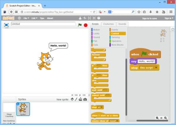 تحميل سكراتش للكمبيوتر ، برنامج سكراتش للبرمجة