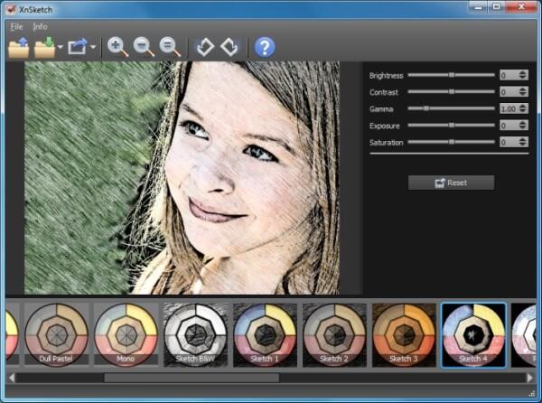 برنامج تحويل الصور الى رسم،تحويل الصور الى كرتون،Download Xnsketchبرنامج تحويل الصور الى رسم،تحويل الصور الى كرتون،Download Xnsketch
