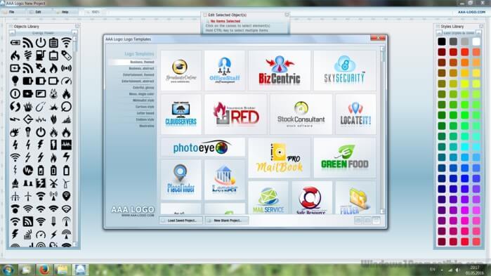 تحميل برنامج تصميم الشعارات 2021 AAA Logo للكمبيوتر