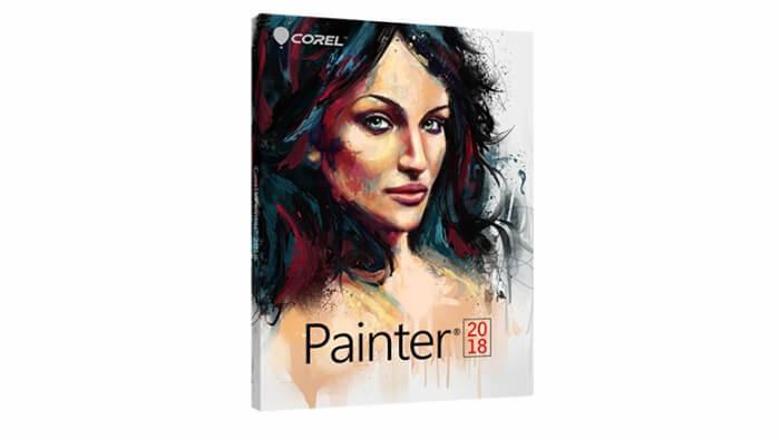 برنامج التصميم والرسم مجانا للكمبيوتر ، Corel Painter ، كورل درو