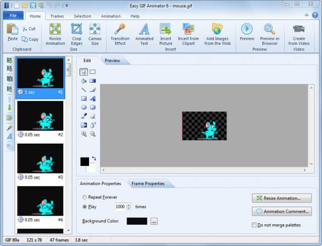 برنامج صنع الصور المتحركة ، Download Easy Gif Animator