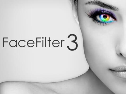 برنامج تجميل الصور الشخصية ، تنزيل Facefilter