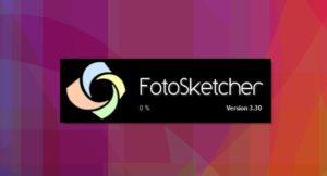 برنامج تحويل الصور إلى لوحات فنية 2021 FotoSketcher