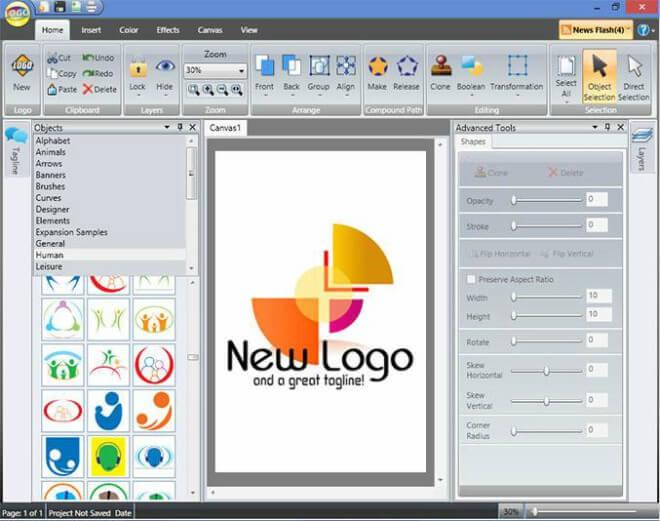 برنامج تصميم الشعارات واللوجو، كيفية تصميم لوجو لموقع،شعارات إحترافية،Logo Design Studio
