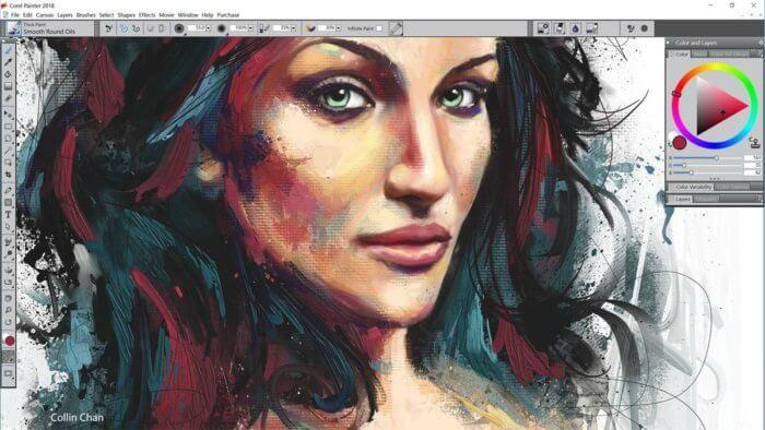 تحميل برنامج تصميم الصور 2021 Corel Painter للكمبيوتر