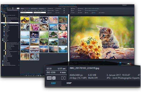 تحميل محرر الصور للكمبيوتر ، تنزيل برنامج تعديل الصور اشامبو ، Ashampoo Photo Commander 16