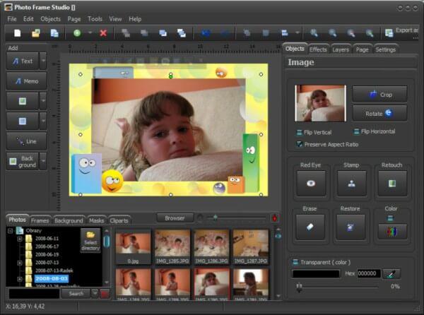 برنامج إضافة الاطارات للصور ، Download Frame Studio