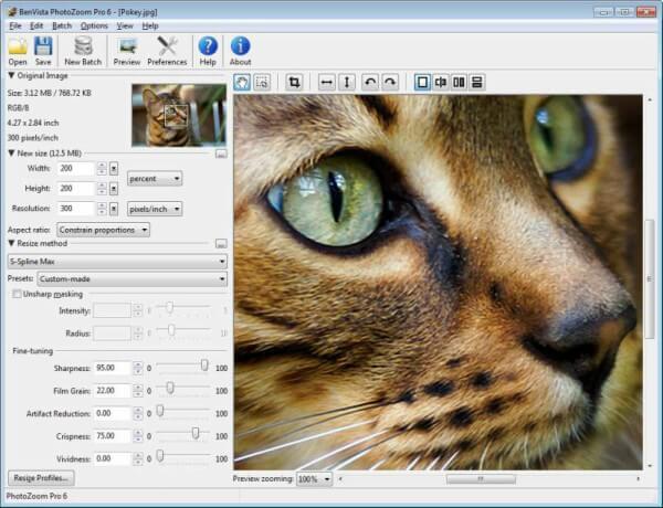 تحميل برنامج تكبير الصور وتوضيحها 2021 PhotoZoom Pro