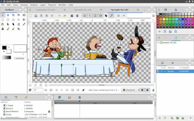 برنامج عمل افلام كرتون ، رسوم متحركة ، إنشاء كرتون