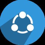 SHAREit logo ، برنامج شير ات ، تحميل شير ات للكمبيوتر والأندرويد،share it iphone