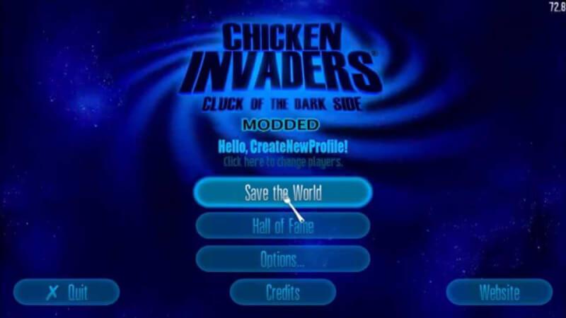 لعبة حرب الفراخ ، تحميل لعبة حرب الدجاج في الفضاء ، Chiken Invaders