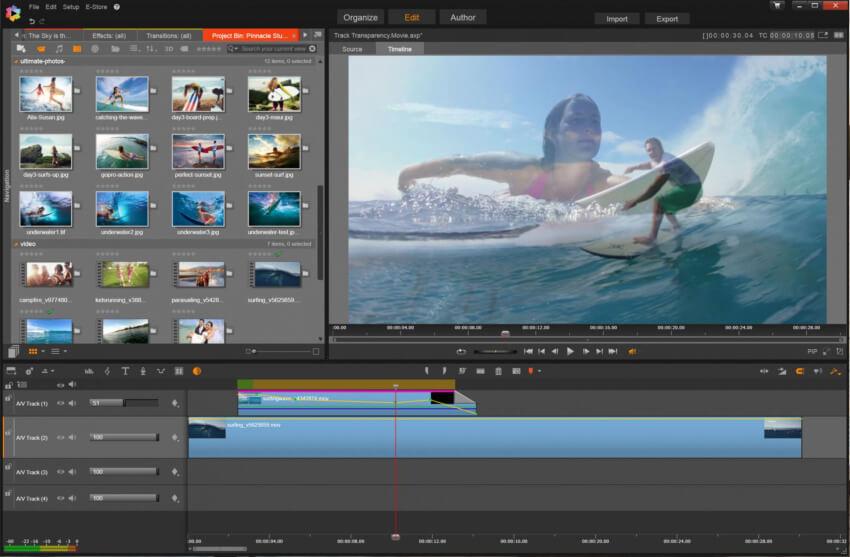 تحميل برنامج تحرير الفيديو وإضافة التأثيرات عليه 2021 Pinnacle Studio للكمبيوتر