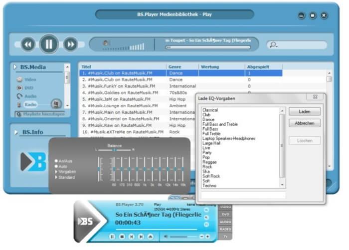 تحميل مشغل الموسيقى 2021 BSPlayer للكمبيوتر مجانا