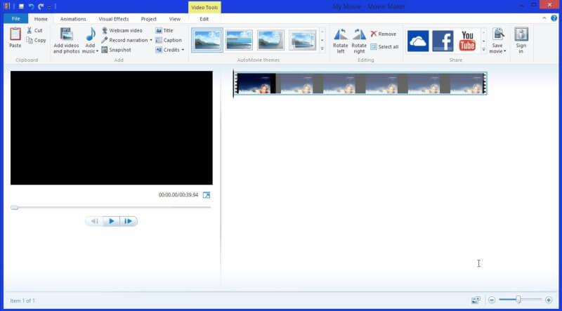 برنامج موفي ميكر للكمبيوتر اخر اصدار ، برنامج مونتاج الفيديو ، دمج الصور على شكل فيلم ، download Movie Maker