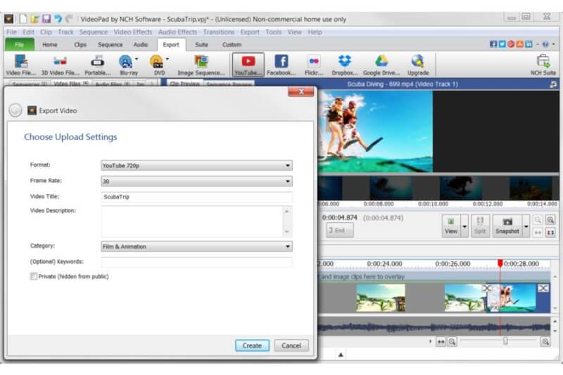 برنامج تعديل الفيديو مجانا للكمبيوتر ، تحميل برامج تحرير الفيديوهات ، download video Editor