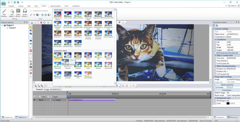 برنامج تحرير الفيديو مجانا للكمبيوتر ، تنزيل برنامج مونتاج الصوت والصورة ، VSDC Free Video Editor