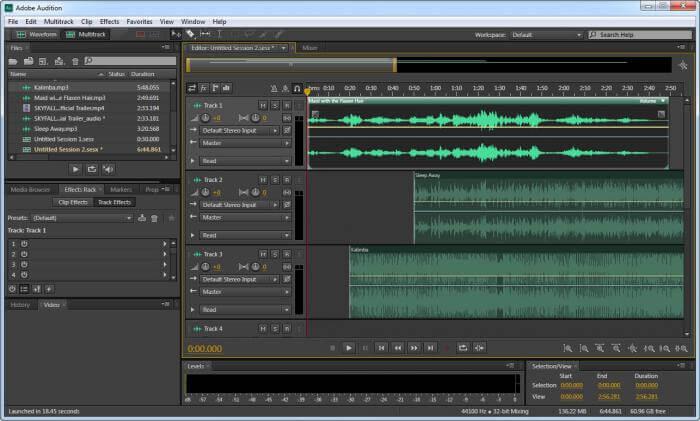 تحميل برنامج هندسة الصوت ، تحرير الصوتيات ، برنامج ادوبي اوديشن ، Download Adobe Audition