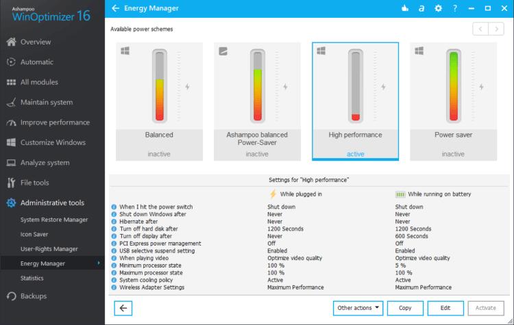 برنامج تسريع وتنظيف الكمبيوتر 2021 WinOptimizer مجانا