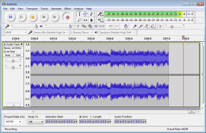 برنامج فصل الصوت عن الموسيقى ، برنامج اوداسيتي ، محرر الصوتيات ، برنامج تعديل الموسيقى ، Download audacity