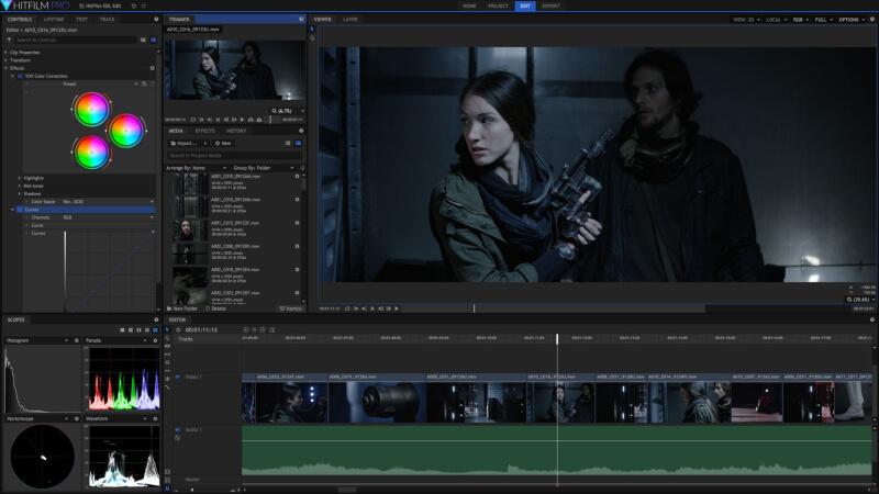 برنامج مونتاج وتحرير الفيديو ، دمج مقاطع الفيديو ، صناعة الأفلام ، Download Fxhome