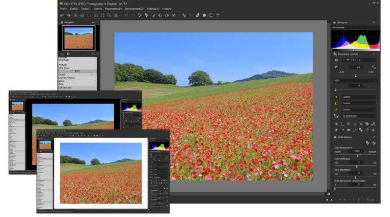برنامج تحسين وتعديل الصور 2021 SILKYPIX JPEG Photography