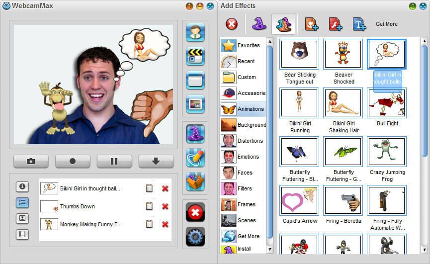 تحميل برنامج ويب كام ماكس 2021 WebcamMax للكمبيوتر