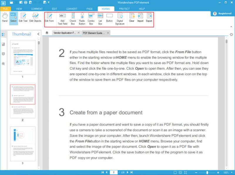 برنامج تحرير وتعديل ملفات PDF مجانا PDFelement 2021