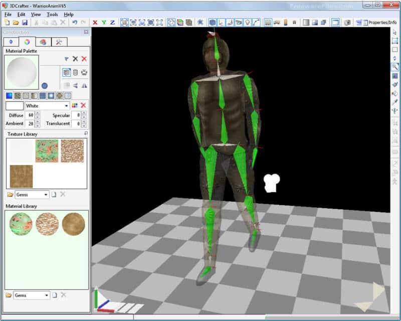 برنامج انشاء نماذج ثري دي 2021 3DCrafter للكمبيوتر