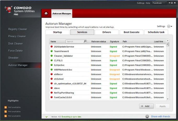 تنظيف الكمبيوتر من الملفات الزائدة ، اصلاح وتنظيف الريجيستري ، كومودو ، Download Comodo System