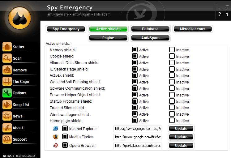 حماية الكمبيوتر ، مسح ملفات التجسس ، كشف الفيروسات ، احصنة طروادة ، Spy-Emergency