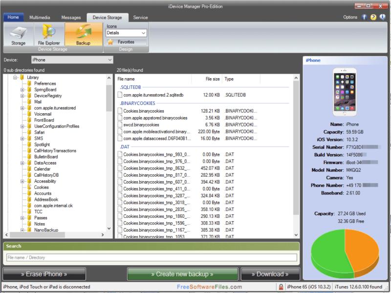 نقل الملفات الى ايفون ، ادارة اجهزة ابل ، صناعة النغمات ، تصفح الصور والفيديو ، download iDevice