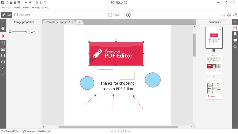 برنامج تحرير المستندات ، اضافة النصوص ، محرر بي دي اف ، تعديل الكتب الالكترونية ، Download Pdf Editor