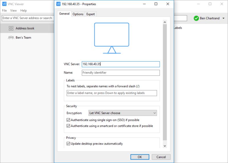 برنامج التحكم في الكمبيوتر عن بعد ، ادارة الاجهزة عن طريق الانترنت ، السيطرة على الحاسوب ، RealVNC