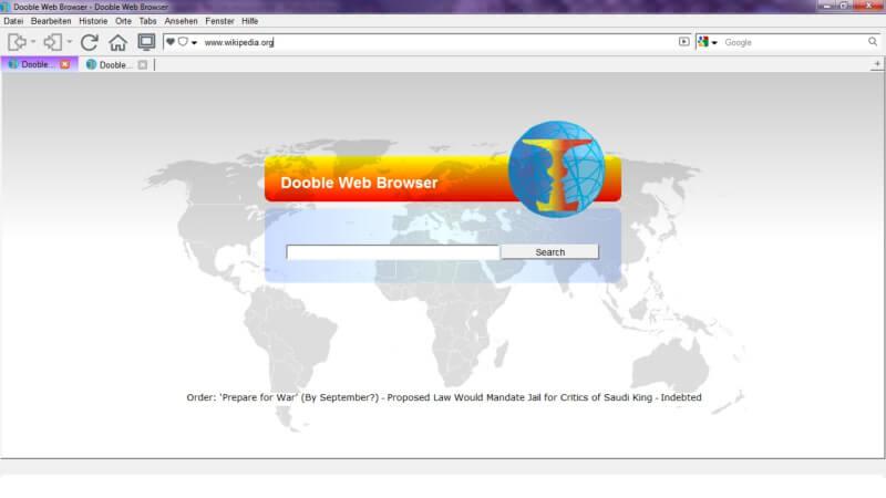 تحميل متصفح الويب الجديد 2021 Dooble Web Browser