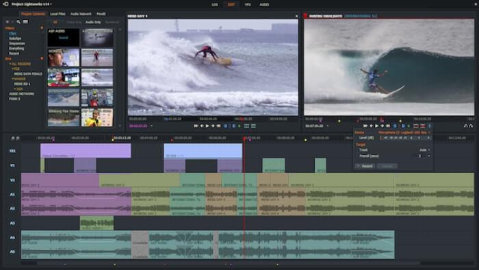 برنامج تعديل ومعالجة الفيديو ، اضافة التأثيرات ، اخر اصدار ، افضل برنامح تحرير المقاطع ، download LightWorks