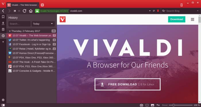 تصفح مواقع الويب ، تحميل الملفات ، برنامج تصفح النت ، download Vivaldi ، Browser