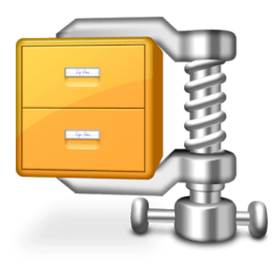 فتح جميع انواع ملفات الارشيف ، وين زيب لتقليل حجم الملف ، تقسيم الملفات ، download Winzip